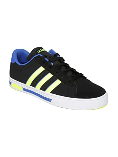 c08d0e14b59 Adidas NEO Men Black Daily Team Sneakers (7UK)  Buy Online at Low ...