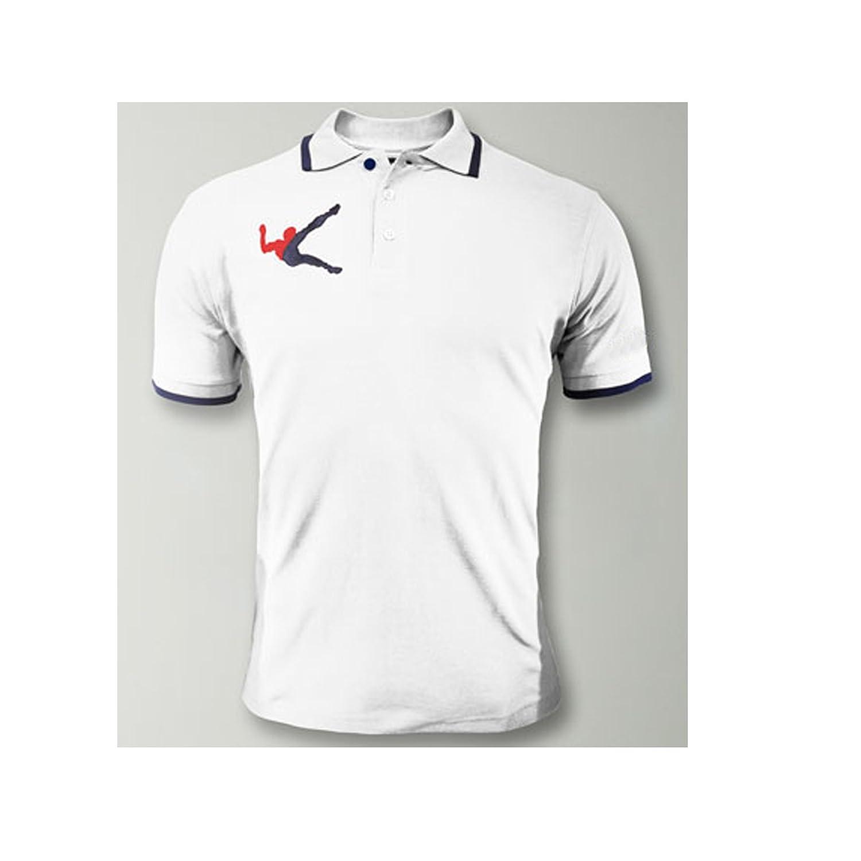 LEGEA Polo Olimpia Manga Corta Camiseta Hombre Unisex Algodón Ocio ...