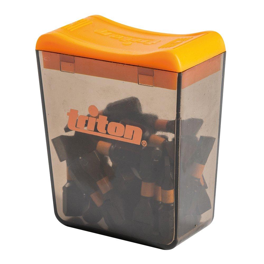Triton TPTA52938996 Lots de 25 Embouts de vissage impact plats