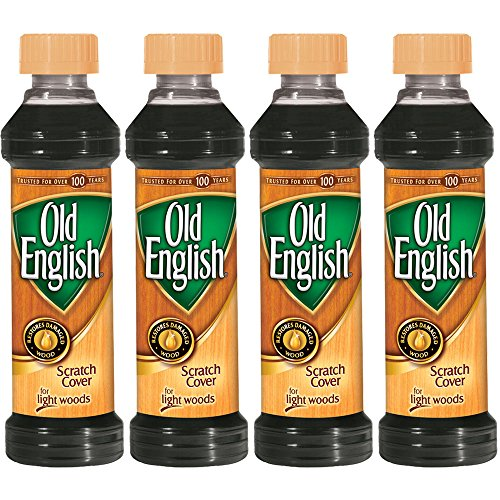 Old English Light Wood Scratch Cover, 8 oz (Pack of 4)