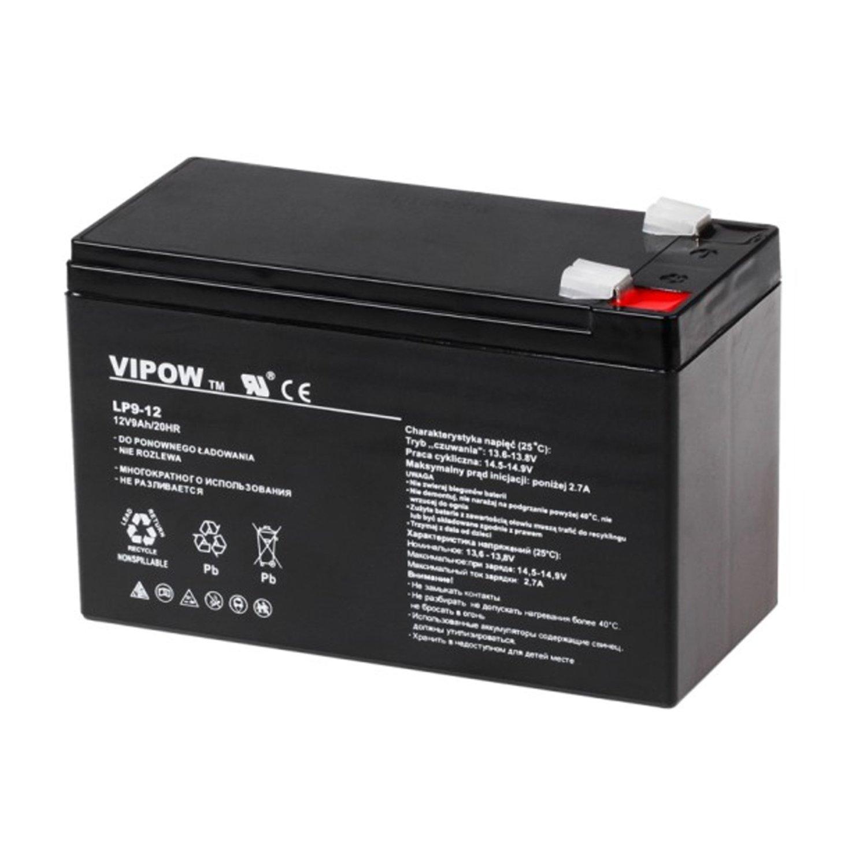Vipow Blei Akku 12V 2,2Ah Bleibatterie Bleigelakku Gelakku