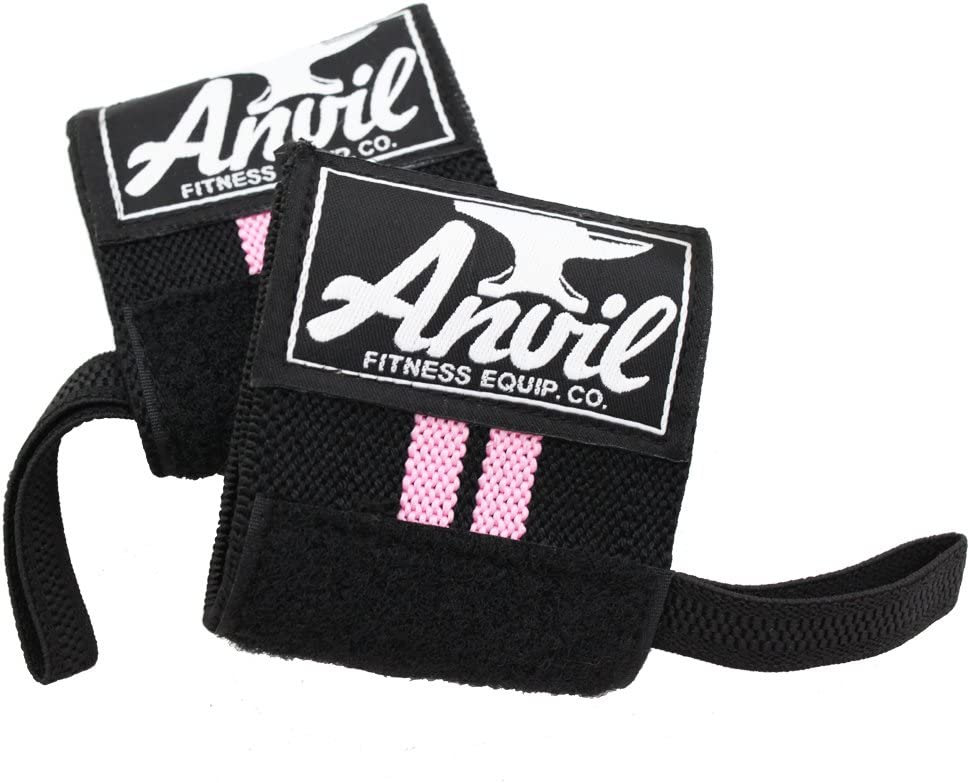 Women's Wrist Wraps - Pair of Adjustable Wrist Straps, Wrist Brace, Wrist Support Bands, Lifting Wraps for Cross fit, Bodybuilding, Fitness, Exercise and Weightlifting : Sports & Outdoors