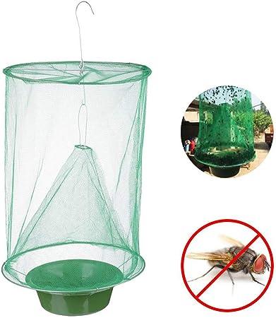 8x Mouche Piège Collant Papier Piège Attrape-mouches insectes volants Tueur en plein air Collant