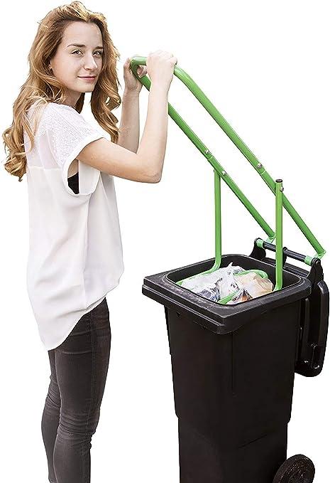 Upp Müllpresse I Müllverdichter Für Jede Papiertonne Bio Mülltonne Gelbe Tonne Oder Restmülltonne 60 L 120 L 240 L I Abfallpresse Sorgt Für 50 Mehr Platz In Der Mülltonne Amazon De Küche Haushalt