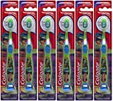 Colgate Kids Extra Soft Toothbrush with Suction Cup - TMNT (6 Pack)