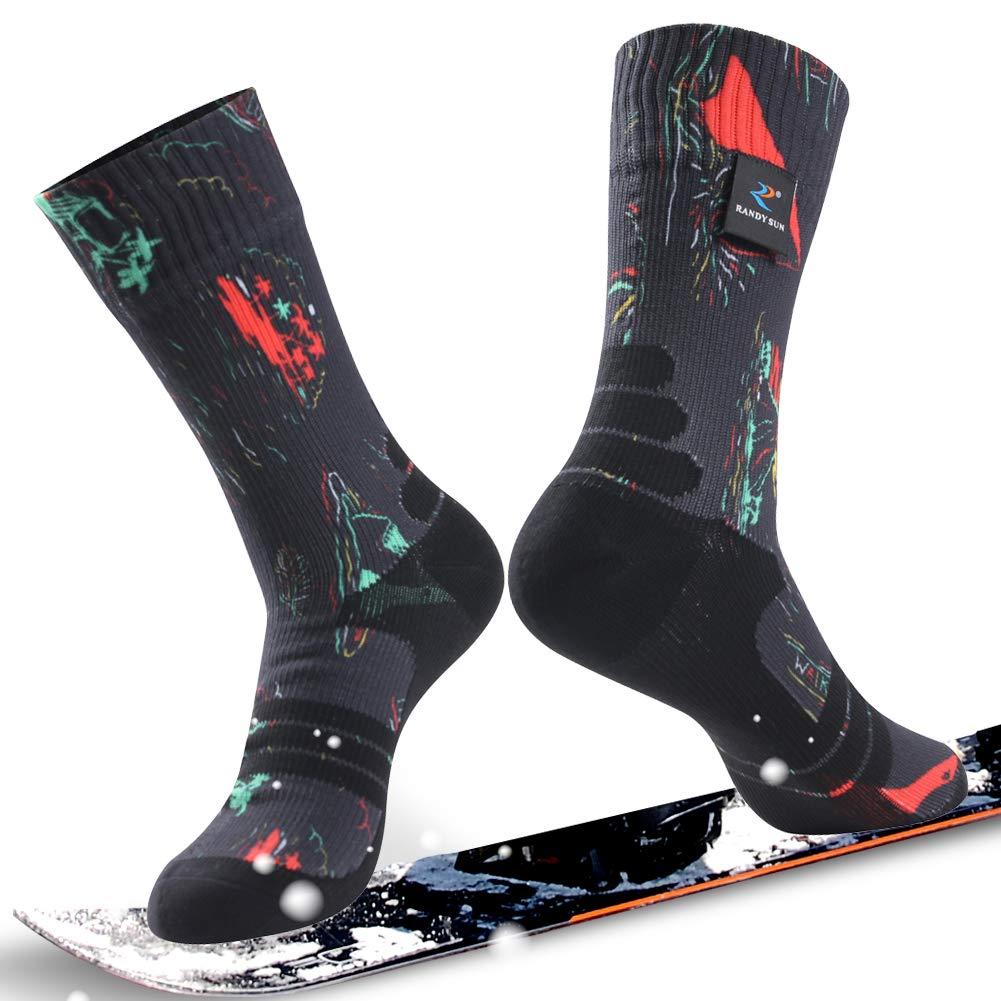 通気性防水ソックス Mid、[ SGS認定]ランディSunユニセックス通気スキートレッキングハイキングソックス Mid B07P1BRWK7 1 Pair-Butterfly Printing-Waterproof Mid Calf Printing-Waterproof Socks Medium Medium|1 Pair-Butterfly Printing-Waterproof Mid Calf Socks, WARMHEART:09e9774b --- ero-shop-kupidon.ru