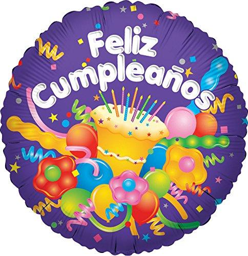 Amazon.com: CONVER USA Feliz Cumpleanos Cake Packaged ...