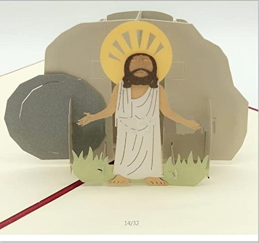 Bc Worldwide Ltd Handmade 3d Pop Up Popup Greeting Card Jesus Is