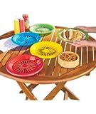 Plastic Plate Holders Set of 16