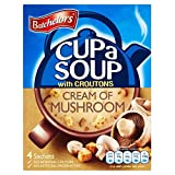 Batchelors Cup a Soup with Croutons Cream of Mushroom (4 per pack - 99g)