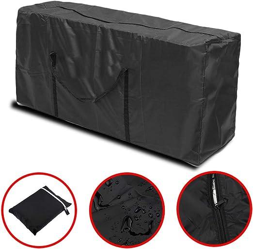 Large Garden Cushion Storage Bag Protector Chair Furniture Patio Seat Bench bag