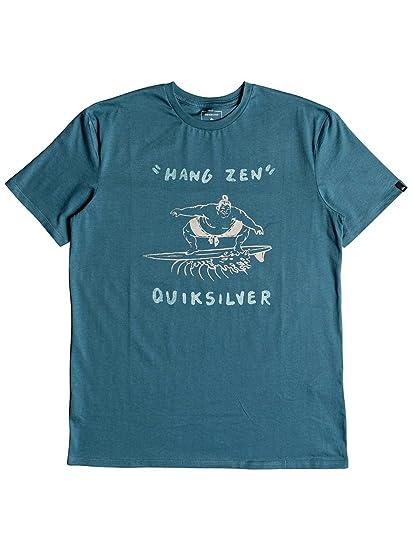 Quiksilver Hang Zen Camiseta Cuello Redondo, Hombre, Tapestry, FR : S (Taille