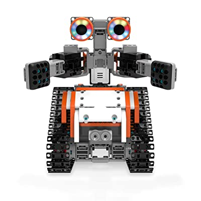 UBTECH JIMU Robot Astrobot Series: Cosmos Kit / App-Enabled Building and Coding STEM Learning Kit (387 Parts and Connectors): Toys & Games