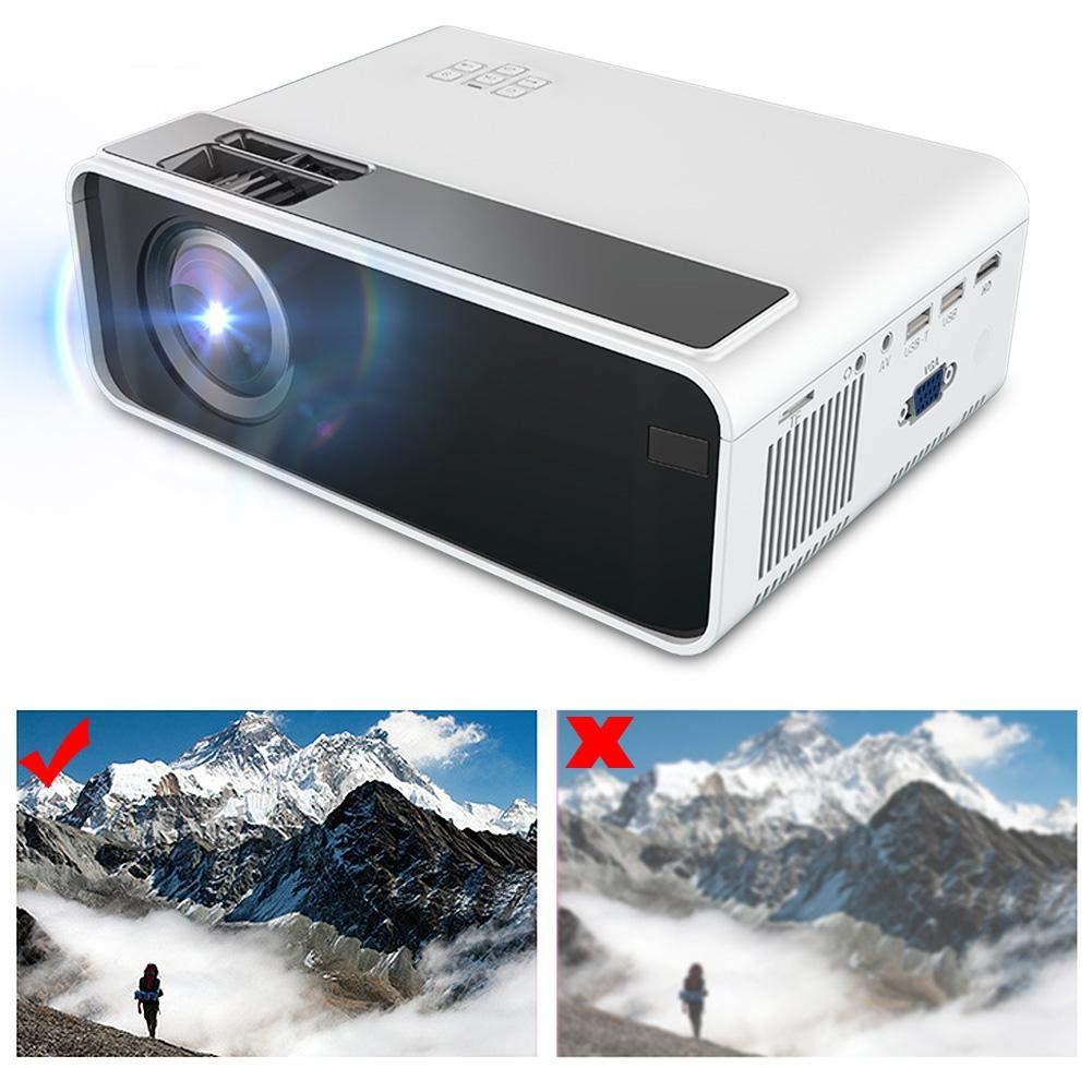 Diyeeni Proyector con 3D Incorporado,3D Proyector Video Soporta ...