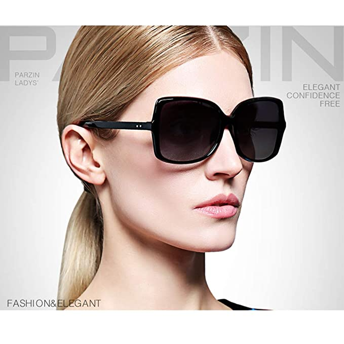 852c78da73 Image Unavailable. Image not available for. Color  Vintage Womens Sunglasses  PARZIN Polarized Eyewear for Mens Driving ...