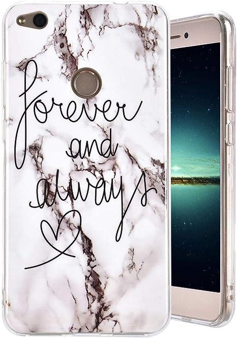 MeganStore - Cover per Huawei P8 Lite 2017, motivo marmo ...