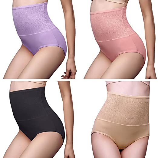 3a86f3a41 Ladaidra Women Body Shapewear High Waist Hip Lift Tummy Control Underwear  Panty (Skin-Color