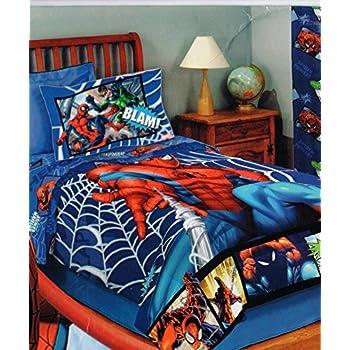 Marvel Spiderman 4pc Full size sheet set