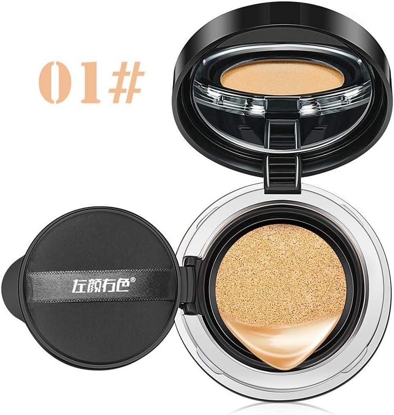 UINGKID - Líquido de maquillaje para hombre, antiojeras líquido, bronce, base de maquillaje impermeable, corrector que cambia de color BB crema: Amazon.es: Belleza