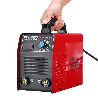 ExcLent MMA-250G 220V 20-250A eléctrico IGBT Inverter ARC Stick soldador máquina de