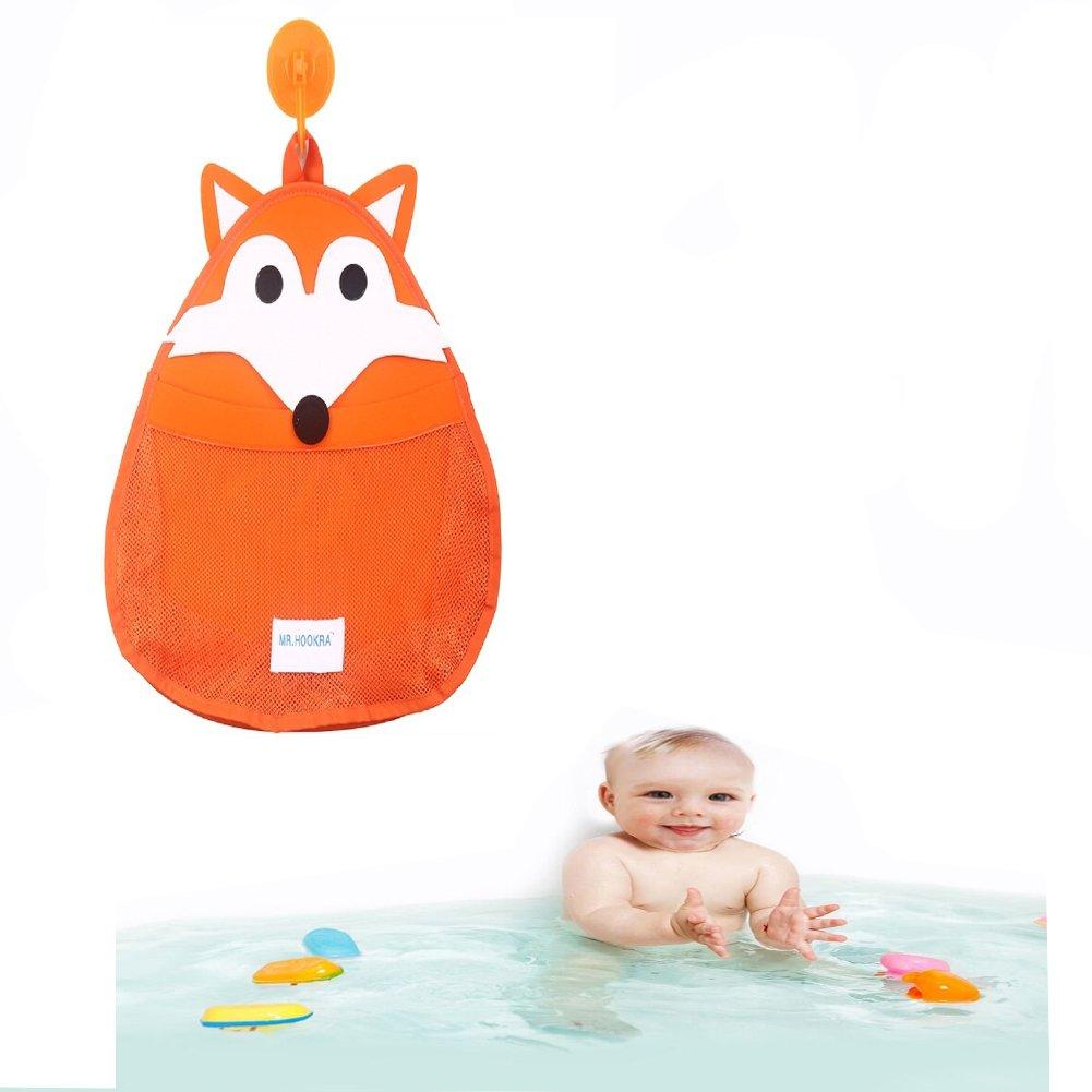 Organizador de almacenamiento de juguetes para baño, Flyfish Bath Toy Storage | NUEVO DISEÑO - Succión extra fuerte (B) Flyfish-BG