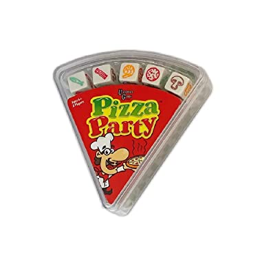 University Games Pizza Party Dice Fast & Frantic Dice Game for Kids: Toys & Games