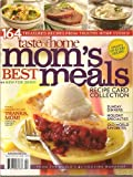 img - for Taste of Home Mom's Best Meals Recipe Card Collection book / textbook / text book