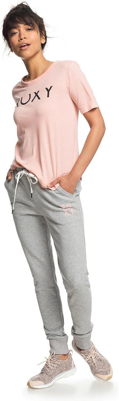 Roxy - Pantalón de chándal - Mujer - L - Gris: Amazon.es: Ropa y ...
