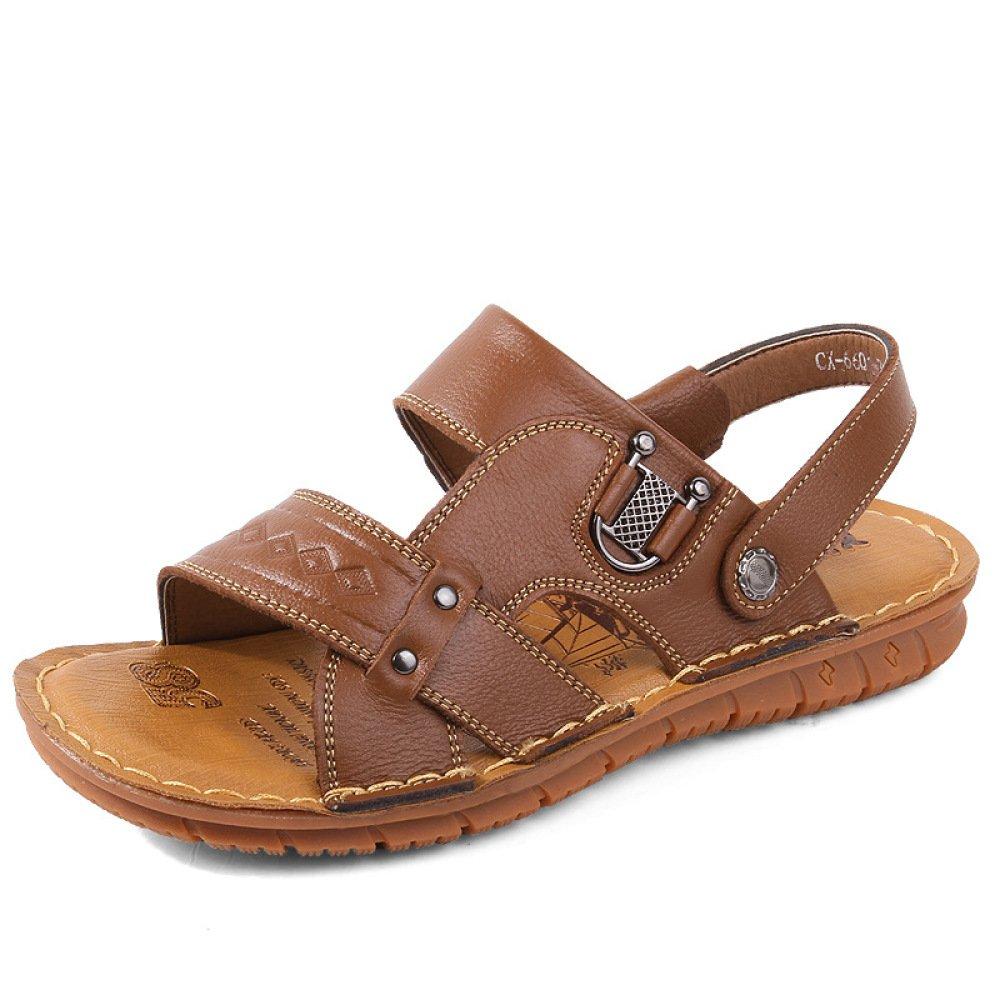Sandalias Summer Casual Beach Shoes Plataforma Antideslizante Sandalias Zapatillas 42 EU|Lightbrown