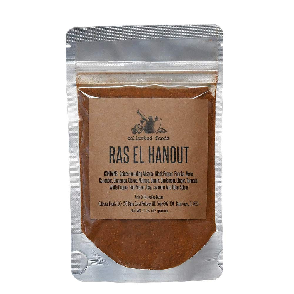 Gourmet Ras El Hanout Moroccan Spice Blend: Authentic Moroccan Seasoning by Collected Foods