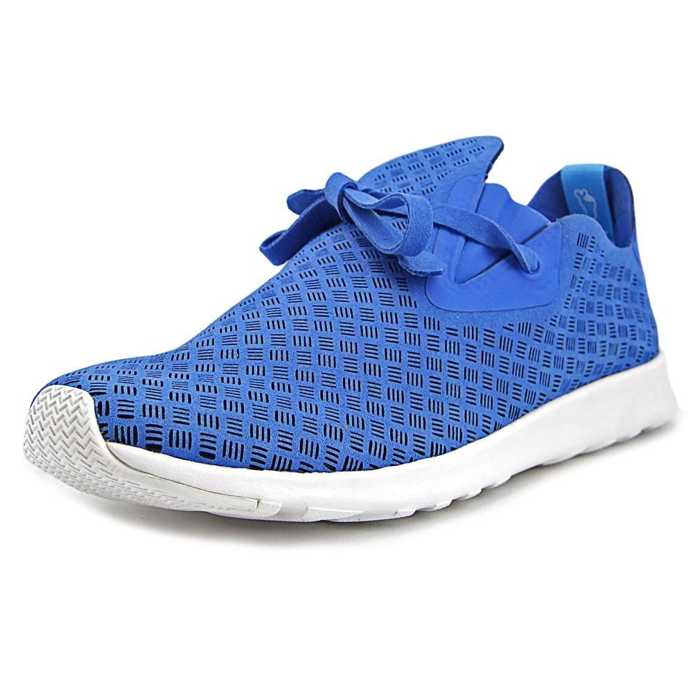 Native Unisex Apollo Moc Fashion Sneaker. B011PMDGH0 12 B(M) US Women / 10 D(M) US Men Barracuda Blue/Shell White/Stripes