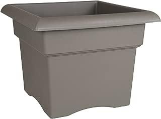 product image for Bloem Fiskars 14 Inch Veranda 3 Gallon Box Planter, Color Cement (57714), 14-Inch