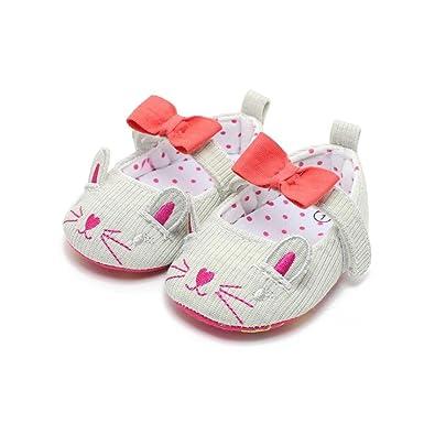 Amazon Com Warmshop Newborn Boys Girls Cut Cat Pattern Bowknot Soft