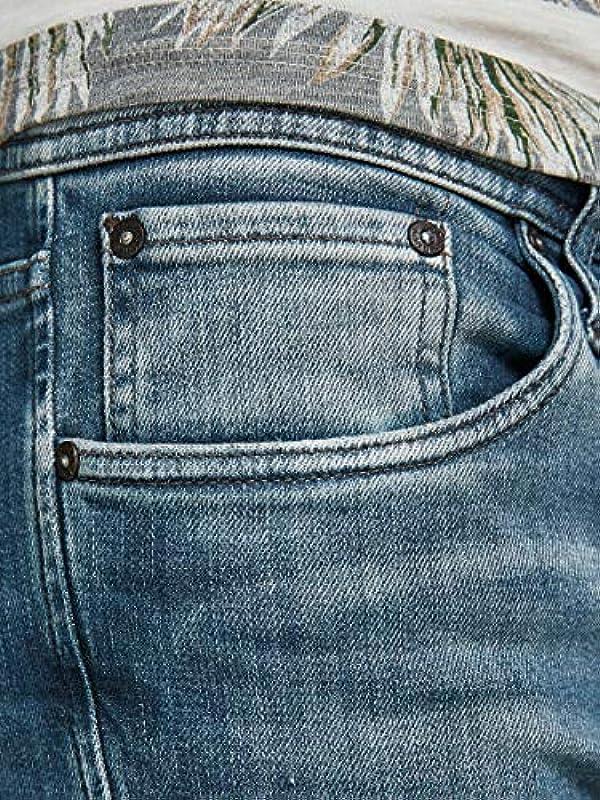 JACK & JONES Male Slim Fit Jeans Glenn Con 057 50SPS: Odzież