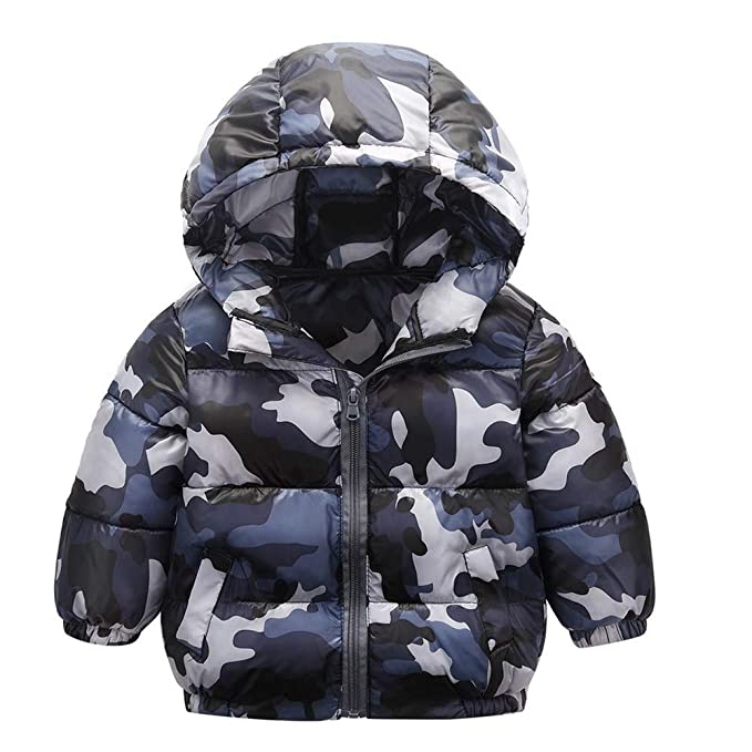 Großhandelspreis am besten auswählen überlegene Materialien Longra Kinder Jungen Camouflage Jacke Parka übergangsjacke ...
