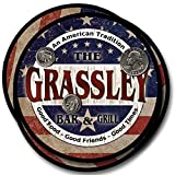 Set of 4 neoprene rubber drink coasters featuring a American-themed Bar and Grill design. A great gift for any patriot, soldier, or any American who likes to entertain. Coasters are 4 inches in diameter and approximately one-quarter inch thick. They ...