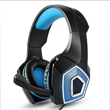 WEATLY Pro Gaming Headset Auriculares for el Ordenador portátil Playstation 4 / PS4 Delgado / PS4 Pro/Xbox