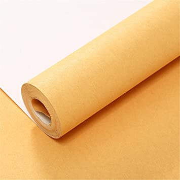 Minimaliste Mode Moderne Long Uni Uni Tissu Non Tisse Ardon Papier
