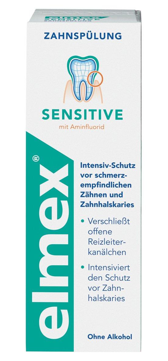 Elmex Sensitive Mouthwash with Amine Flouride 400 Ml