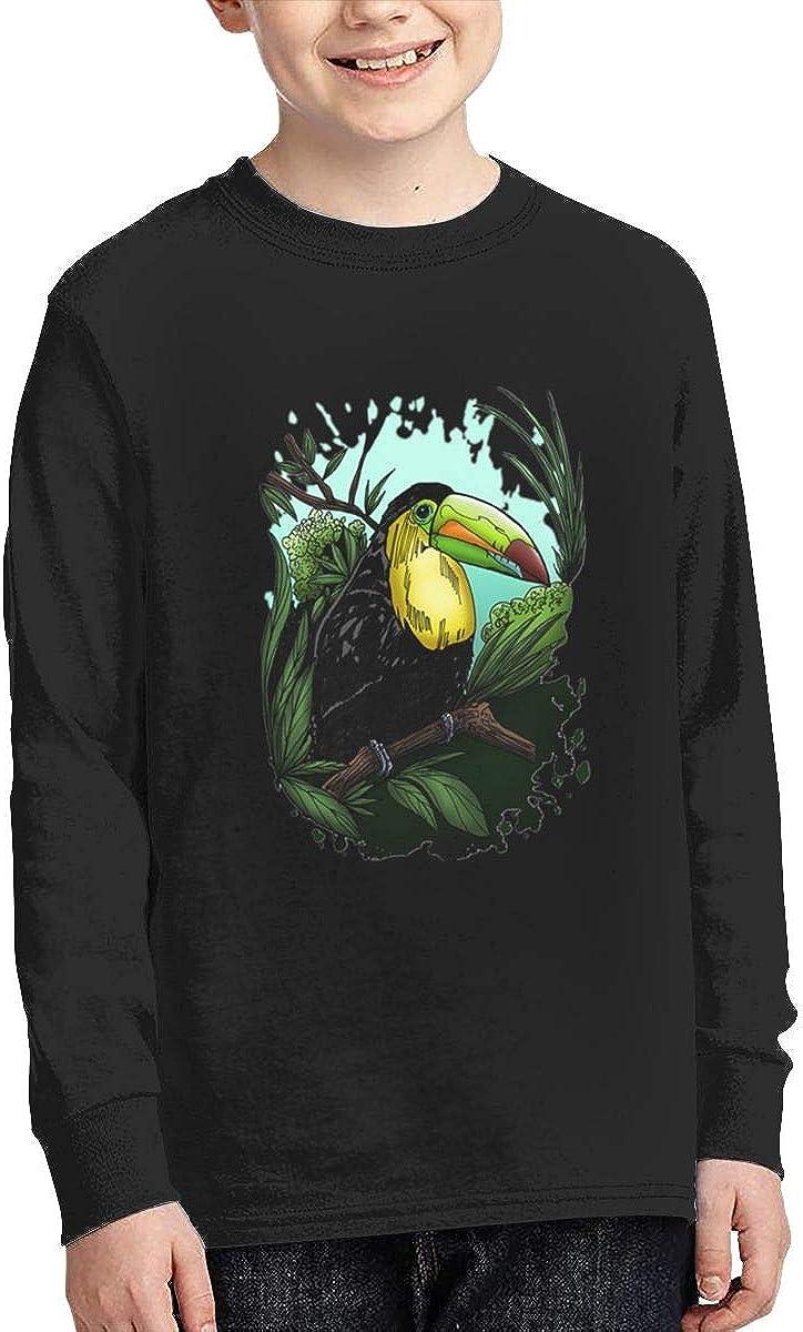 Onlybabycare Toucan Teen Boy Girl Sport Pullover Sweatshirt Graphic Shirt