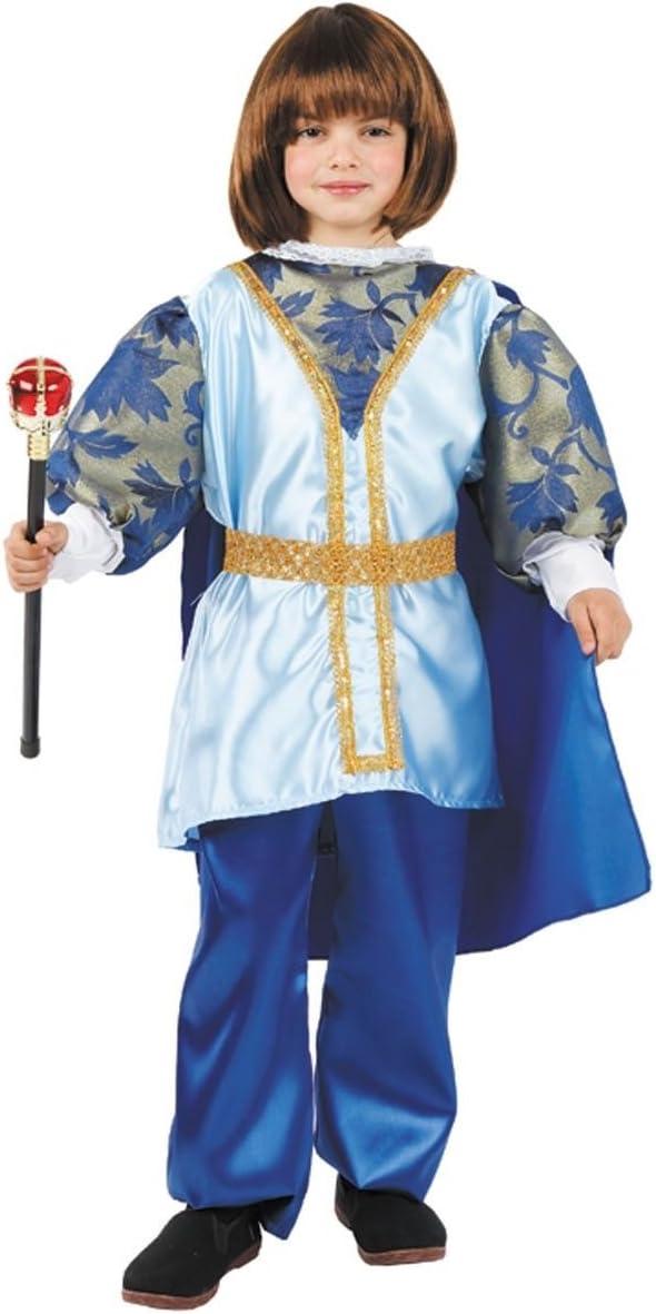 DISBACANAL Disfraz Principe Azul niño - Único, 6 años: Amazon.es ...