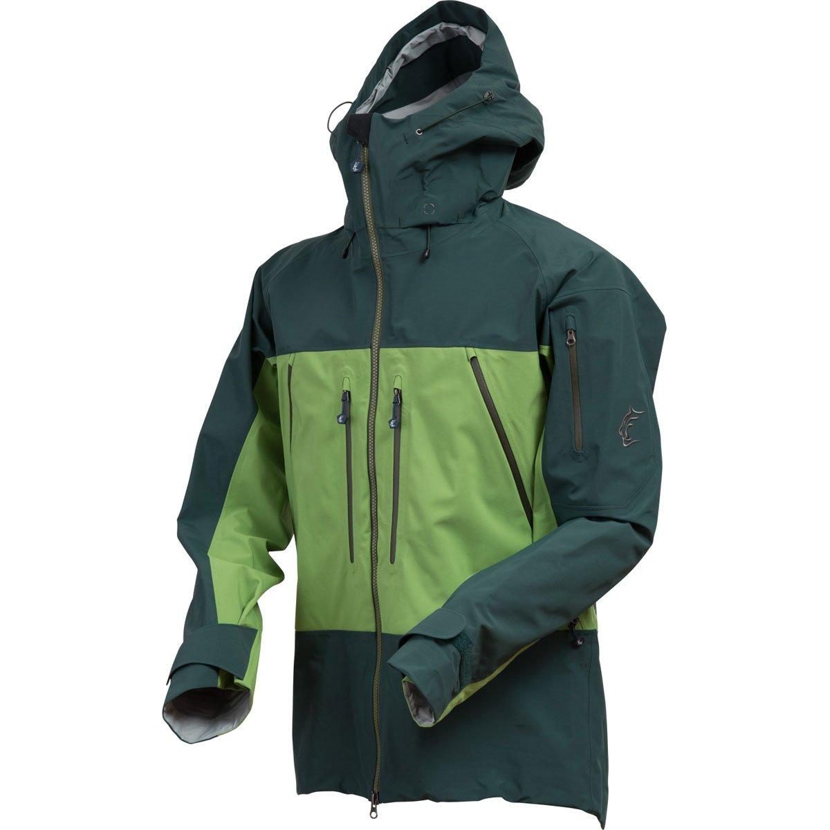 Teton Bros.(ティートンブロス) TBジャケット男性用 17301M B076HGRH1L L|ディープグリーン/グリーン ディープグリーン/グリーン L