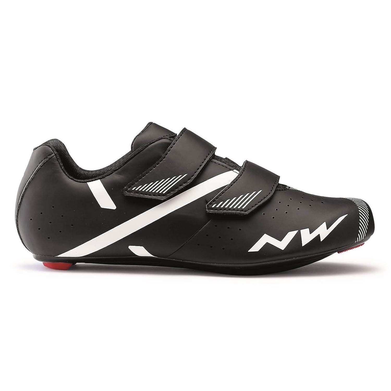Northwave Jet 2 Rennrad Fahrrad Schuhe schwarz weiß 2019