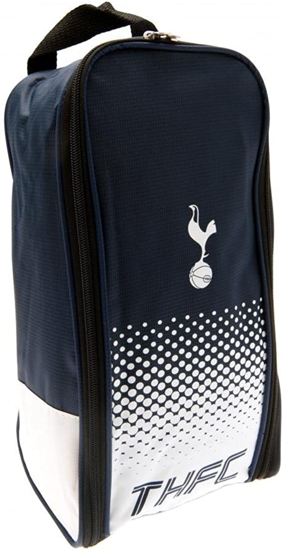 Official Foil Print Football Bag Tottenham Hotspur FC Crest Backpack//Rucksack