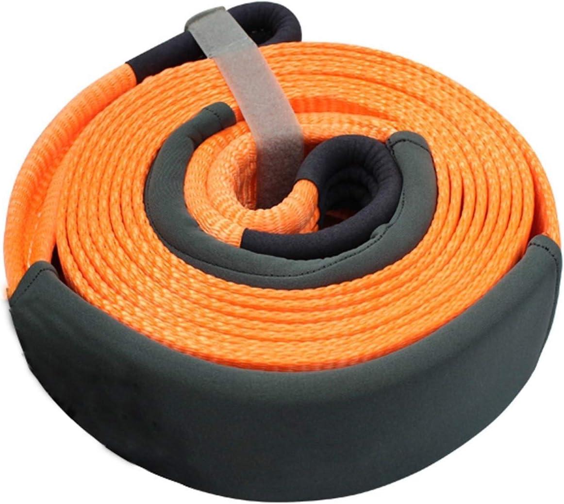 force de traction maximale de 15 tonnes avec deux crochets de s/écurit/é 6 m Corde de remorquage Sangle for les voitures//SUV//fourgonn le nylon de remorquage ceinture Lourds de remorquage Cordes