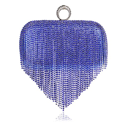 Bag Bags Dinner Party Women Wedding For Clutch Purse B Evening Evening Beaded Tassel Clutch Party And nqfYfzFw
