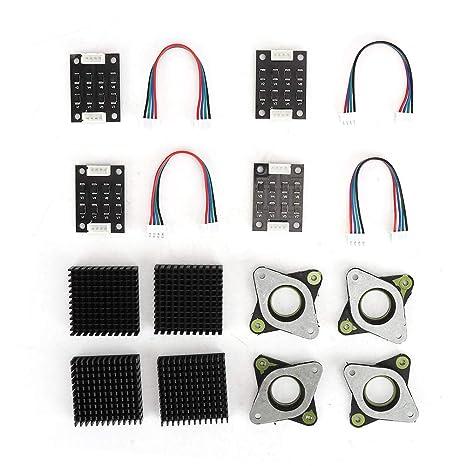 ASHATA Disipadores de Calor de Impresora 3D de 16 Piezas Juego de ...