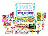old 80s - Woodstock Candy 1985 33rd Birthday Gift Box of Nostalgic Retro Candy for a 33 Year Old Man or Woman - 80s Decade