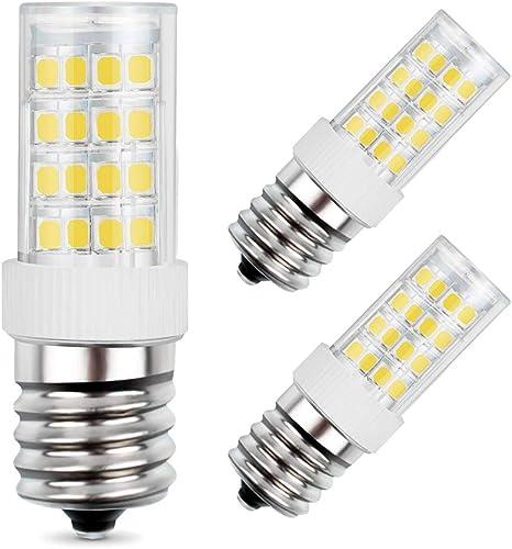 Amazon.com: Bombilla LED E17, bombilla LED de cerámica E17 ...