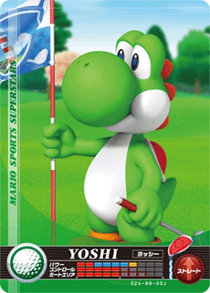 닌텐도 마리오 스포츠 슈퍼 스타 AMIIBO 카드 골프 요시 닌텐도 스위치 WII U 및 3DS